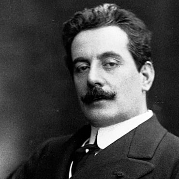 "Italian Giacomo Puccini (1858-1924) composed the operas ""La Boheme"", ""Madame Butterfly"", and ""Tosca"". ca. early 20th century Italy"